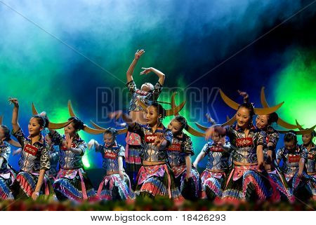 Chinese Ethnic Dancers