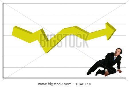 Queda e observando o gráfico constante
