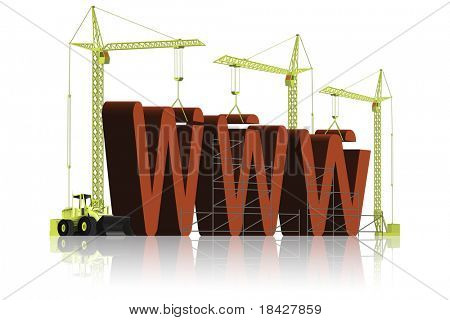 website building under construction maintenance of web page internet or www