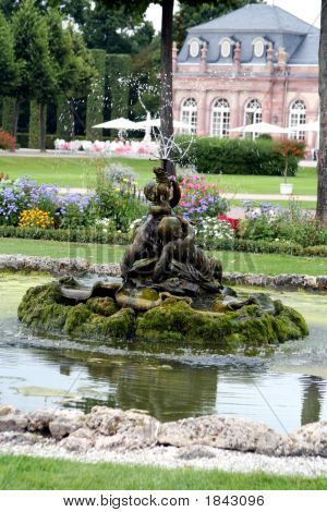 French Baroque Garden, Schwetzingen Castle (Summer Palace) And Garden, Germany