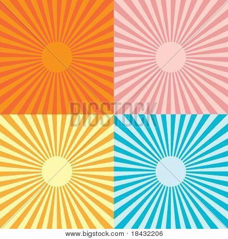 Abstraction Sun