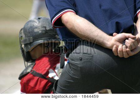 Umpire And Catcher