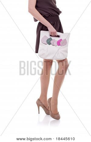Woman Posing With Fashion Accessories