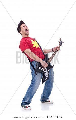 Rock Star Screaming