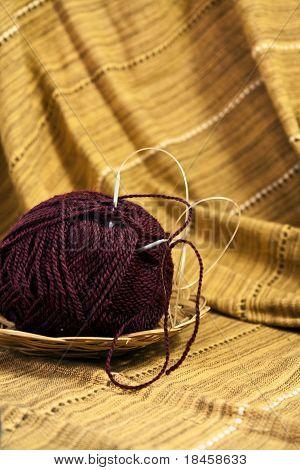 Colored Yarn Ball