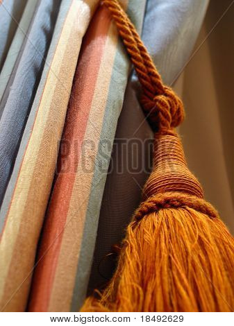 Curtains and tassle
