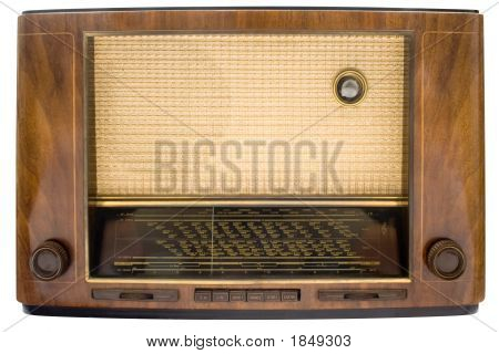 Vintage Tube Radio W/ Path