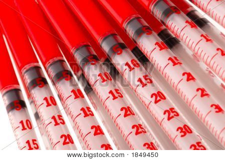 Syringes For Injections Insulin