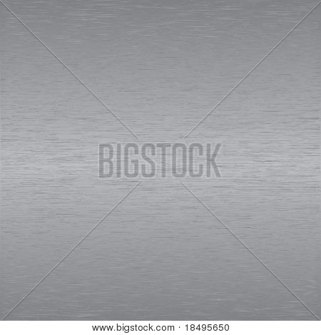 Vector - Brushed metal or aluminum effect for background use.