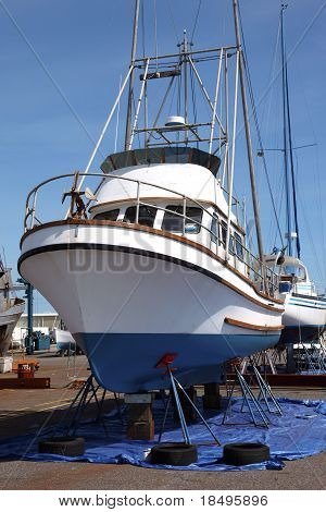 Boat repairs, Astoria OR.