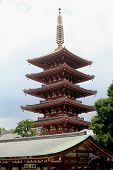 Japanese Tiered Shinto Shrine