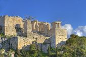 picture of ares  - Acropolis in Athens Greece as seen from Aeropagus  - JPG