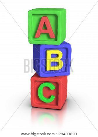 Play Blocks - Abc