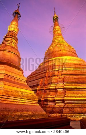 Shwedagon Paya, Yangoon