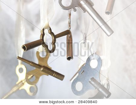 Horizontal Clock Key