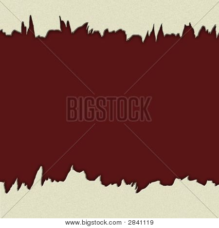 Jagged Edged Background