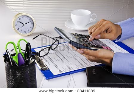 pressing calculator