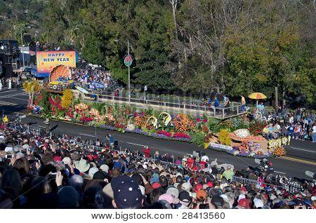 2012 Tournament of Roses Parade-Natural Balance