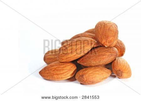 Almonds In Closeup