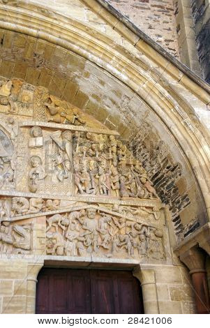 Tympanum Carvings Of The Last Judgment