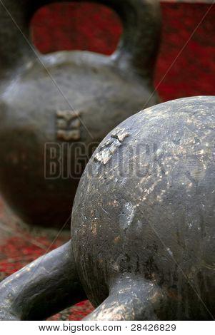 Giant kettlebells
