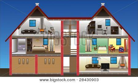 Vektor-Haus