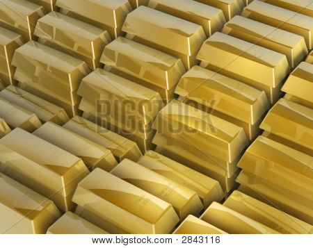 Gold Bars Steps