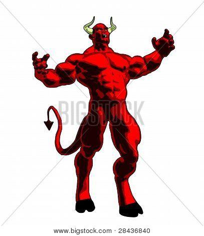 Angry Demon