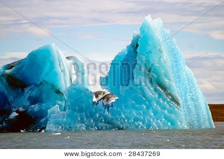 Icebergs, Jokulsarlon, Iceland