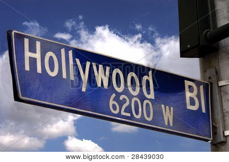Hollywood Blvd Sign