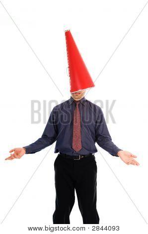 Cone Head Man