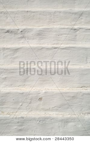 The old brick stage in plaster