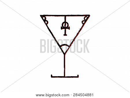 The Satanic Grail Symbol Lucifer