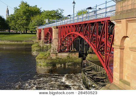 Tidal Weir, River Clyde, Glasgow, Scotland
