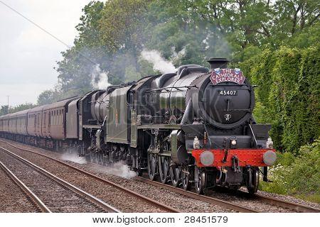UK railtour - final leg