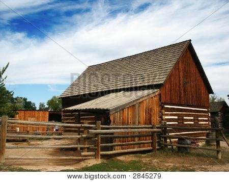 Historic Wooden Barn