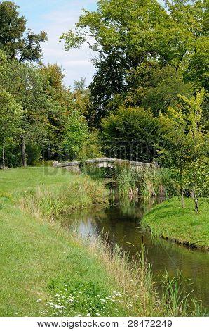 France, park of Domaine de Marie Antoinette
