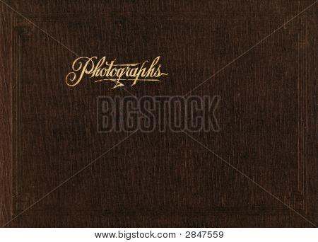 Vintage 1910 Photo Album