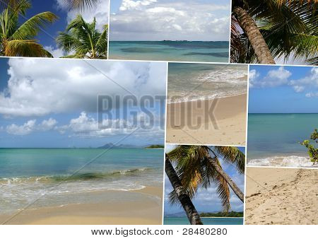 Images of an island paradise
