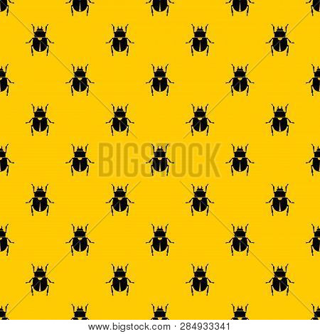 Scarab Pattern Seamless Vector Repeat