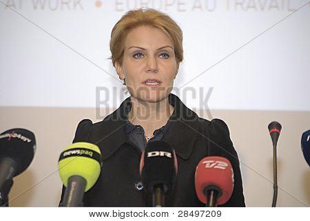 Denmark_helle Thorning-schmidt Prime Minister