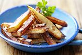 stock photo of french_fried  - homemade french fries - JPG