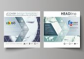 Business Templates For Square Design Brochure, Magazine, Flyer, Booklet. Leaflet Cover, Abstract Vec poster