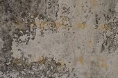 Old Weathered Plaster Wall Texture Background Plaster Paint Rough With Vignette High Resolution Back poster