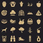 Wildlife Icons Set. Simple Set Of 25 Wildlife Vector Icons For Web For Any Design poster