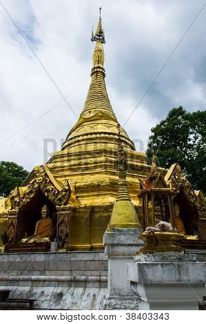 Prathat Sanhai In Wianghaeng, Chiangmai