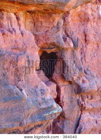 Heart In Red Rock