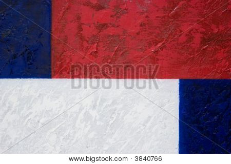 Red, White & Blue Texture