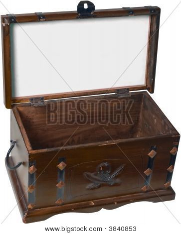 Treasure Box-Clipping Path