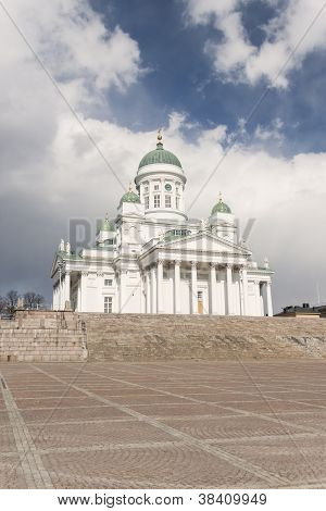 St Nicholas Cathedral In Helsinki, Finland